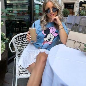 Zara minnie mouse T shirt